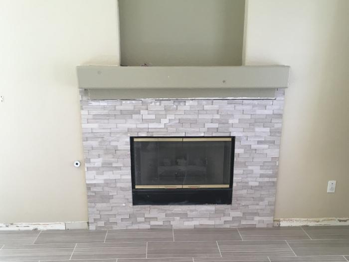 fireplace tile installation flamingo