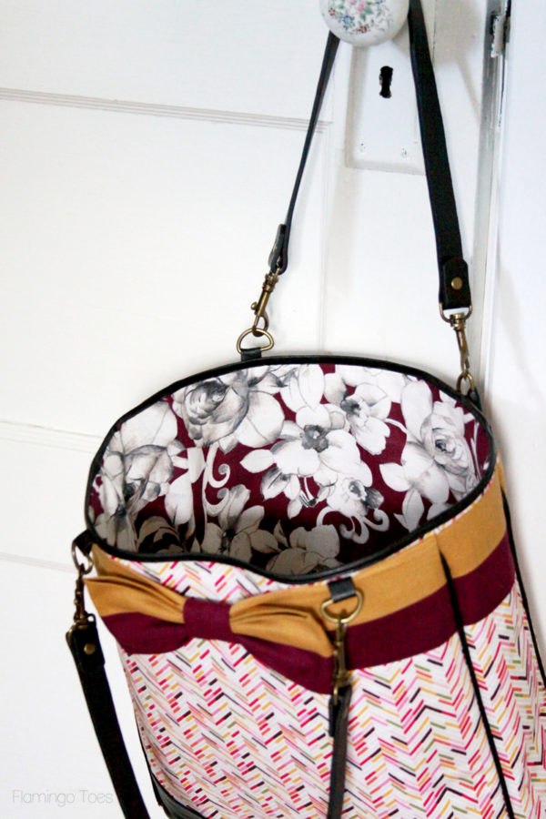 Lined Fall Tote