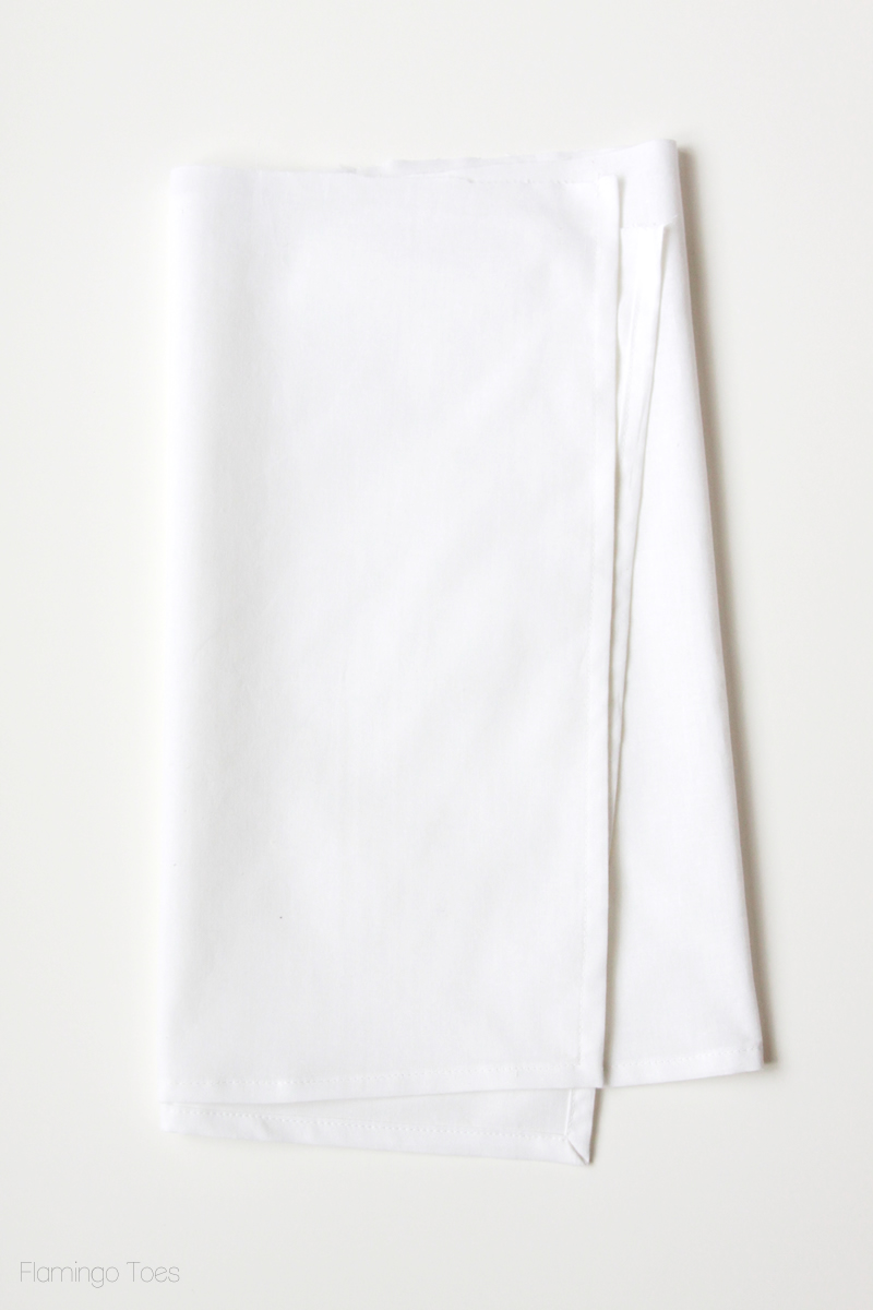 Lining for handkerchief apron