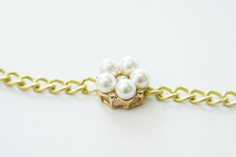 Chain and Pearl Bracelet 2