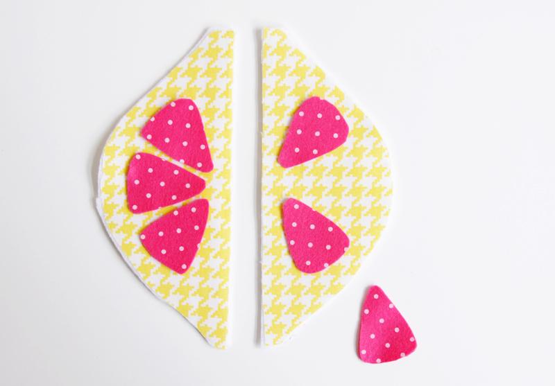 fabric-and-felt-lemon-zipper-pouch