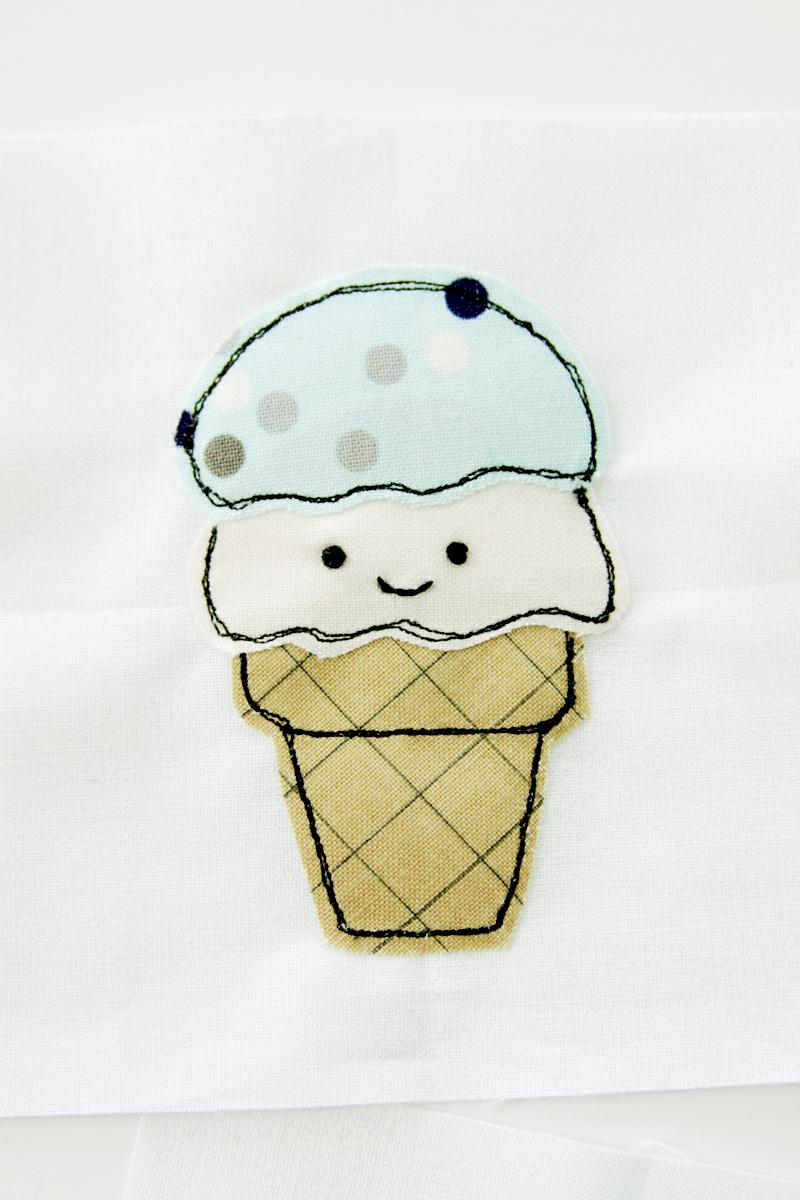 sweet-applique-ice-cream-cone