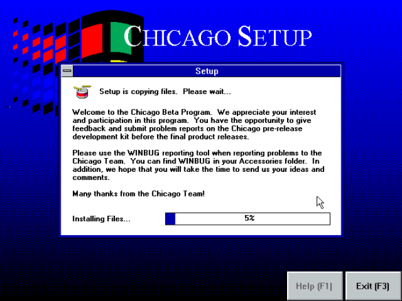 chicago-installing