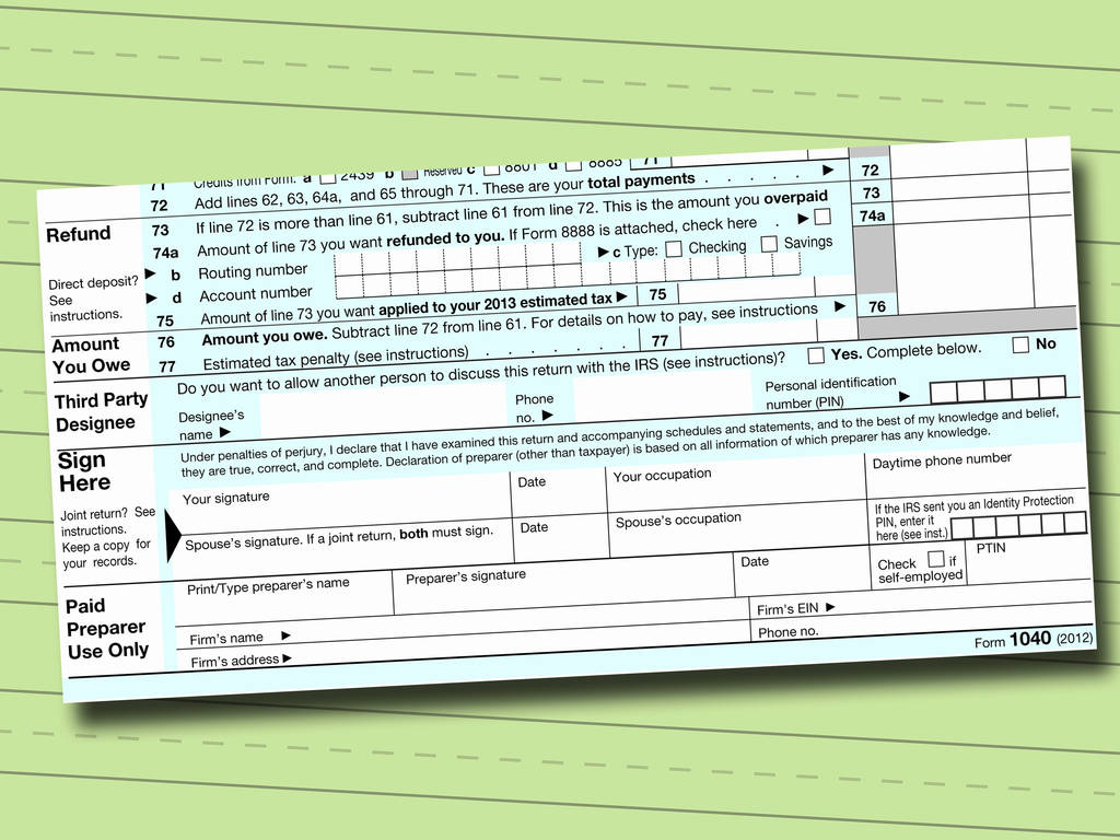 Inspirational Federal Income Tax Form