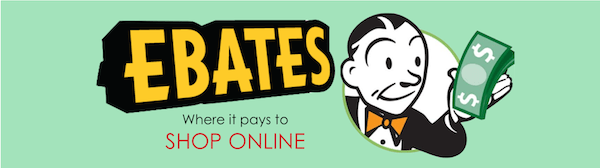 Join EBATES for free, and earn cash back on online purchases from your favorite stores
