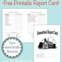 Home School Report Cards