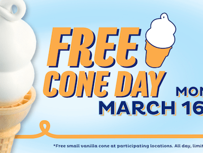 Free Cones, Kids Meals & Birthday Treats
