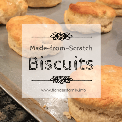 Made-from-Scratch Biscuits