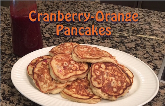 Orange-Cranberry Pancakes