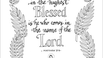 in coloring pages hosanna in the highest - Romans 5 8 Coloring Page