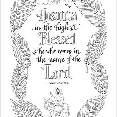 Hosanna in the Highest!