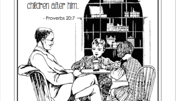 Happy Fathers Day Free Coloring Page