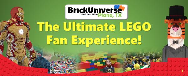 BrickUniverse Expo in Plano, June 11-12, 2016