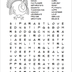Free printable word find puzzle to keep little ones occupied until dinner's ready this Thanksgiving :-)