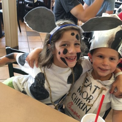 Free Food for Cow Costume Clad Customers at Chick-fil-A Today