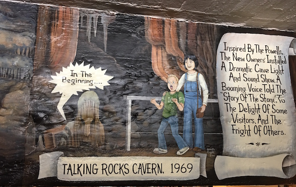 The Talking Rocks Cavern in Branson, MO