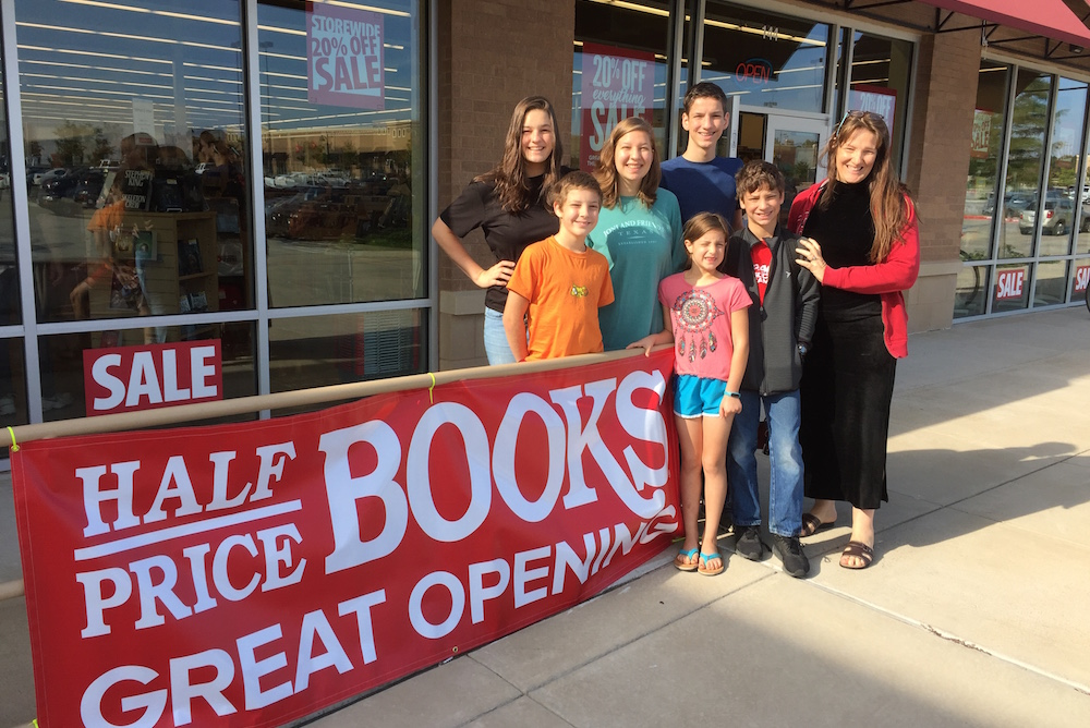 Grand Opening - Half Price Books in Tyler