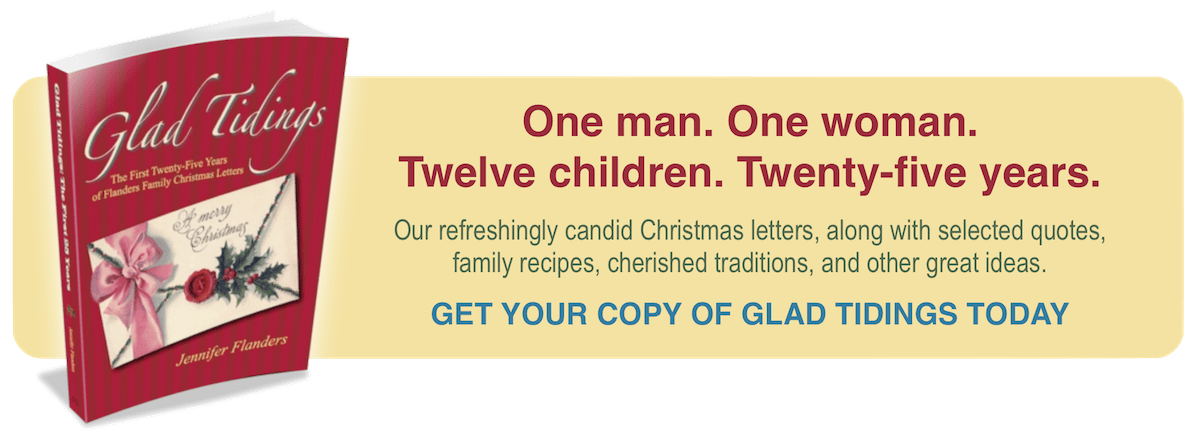 Glad Tidings: 25 Years of Flanders Family Christmas Traditions