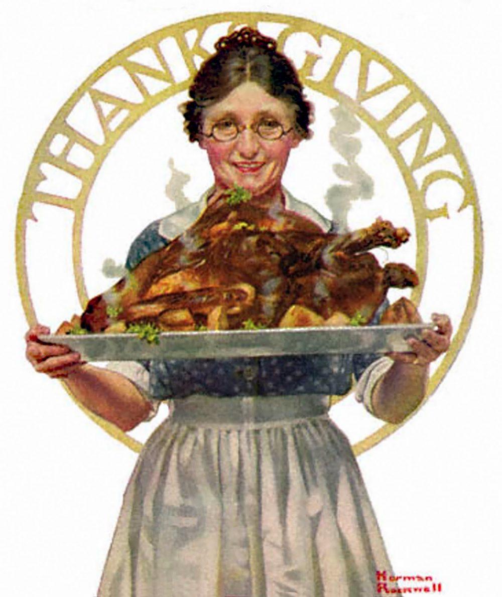 Rockwell Thanksgiving Turkey