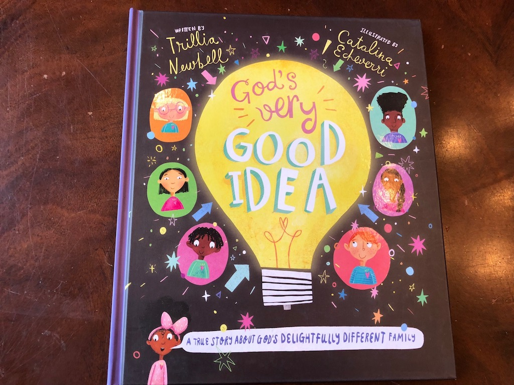 God's Very Good Idea - picture book for children