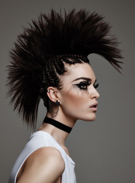 Punk Beauty Is Back 2013 FLARE