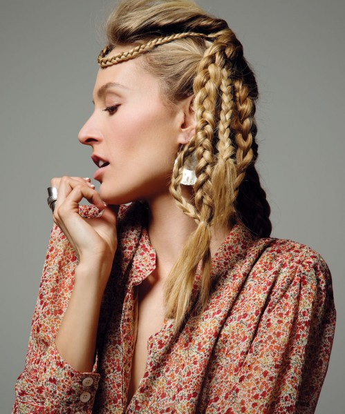 Bohemian Braids Behind The Scenes June 2013 Beauty Shoot