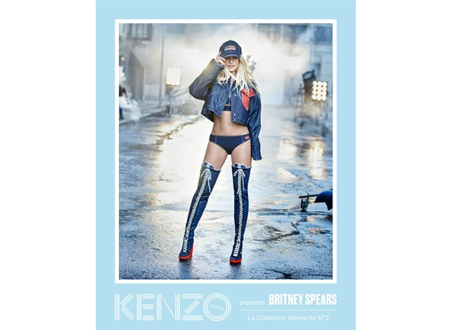 Britney Spears in Kenzo's new campaign