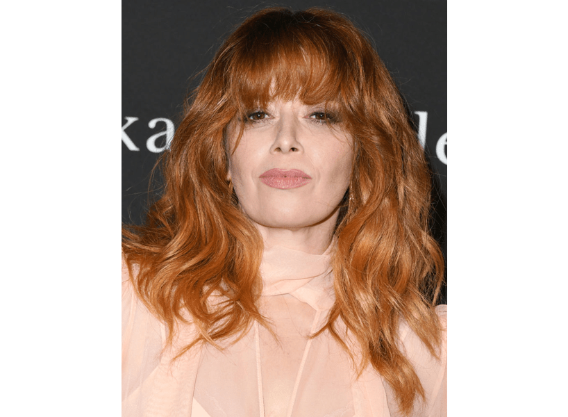 2020 hair trends: Natasha Lyonne with a shag cut