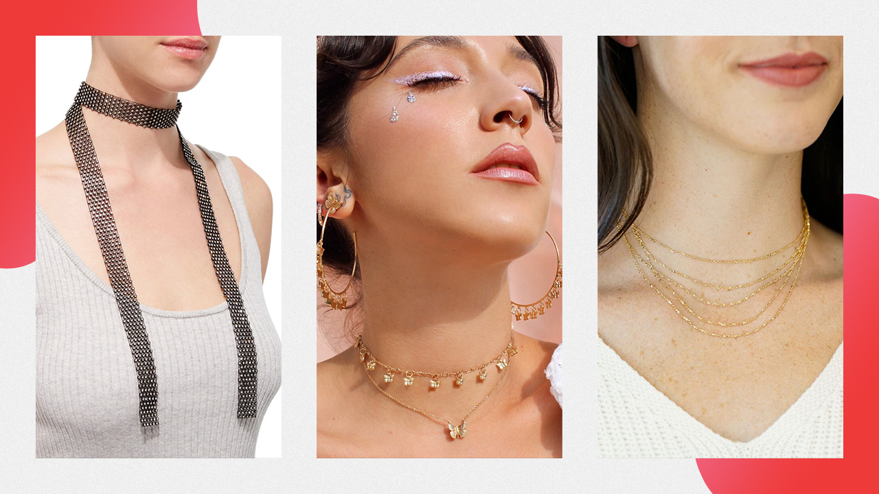 Three examples of chokers