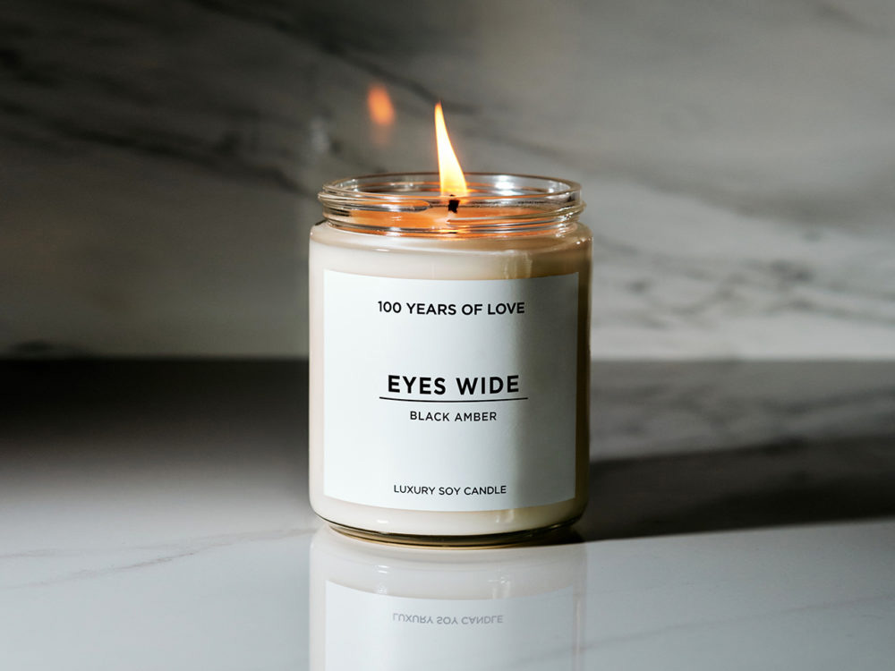 best fall scented candles: 100 years of love
