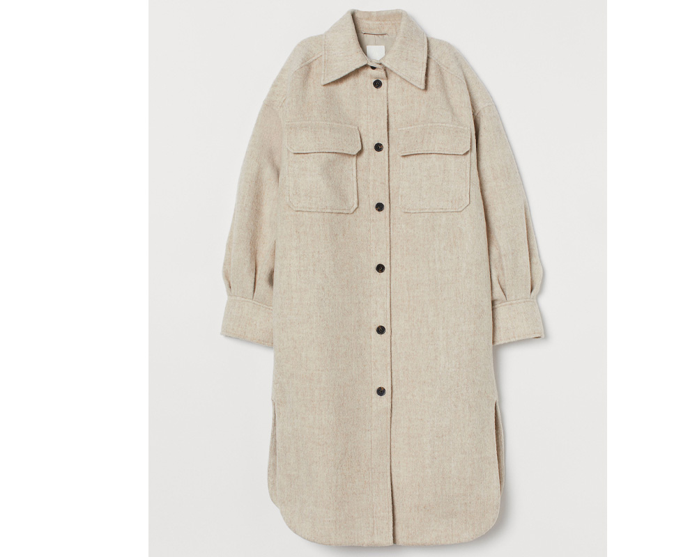 fall jacket trends 2020: h&m
