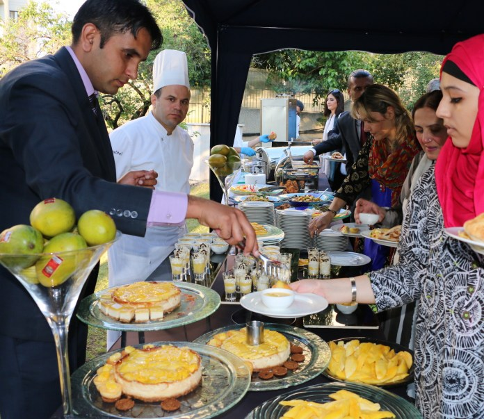 5 Guests enjoying Pakistan Mango Festival at Ankara