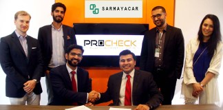Sarmayacar backs ProCheck through $250,000 in Seed Financing