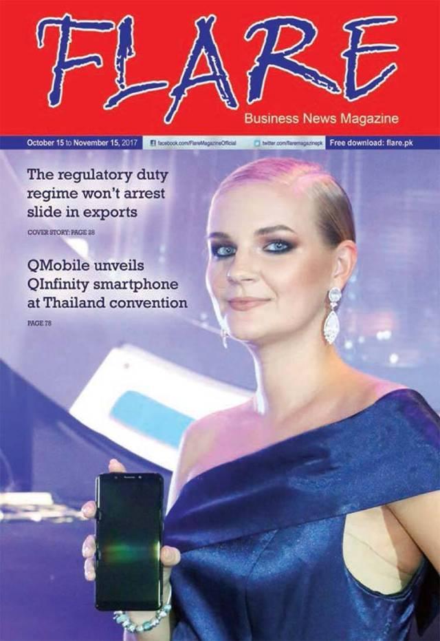 Flare Magazine October 2017 Issue