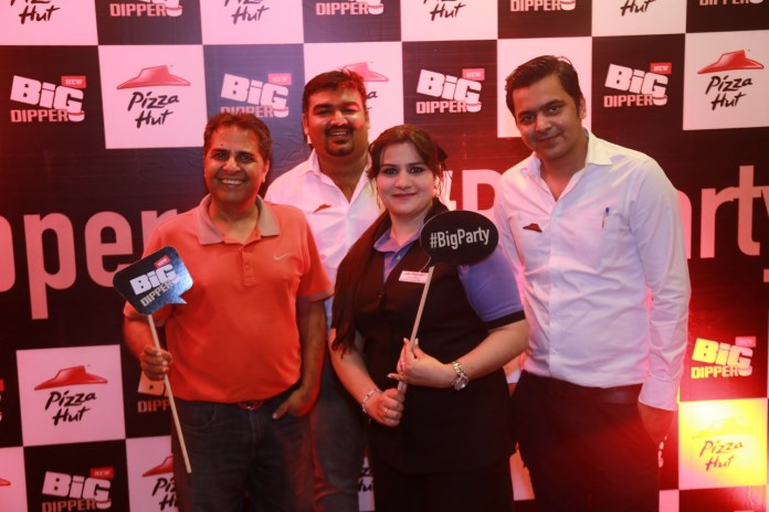 The Big Dipper launch at Pizza Hut Lahore