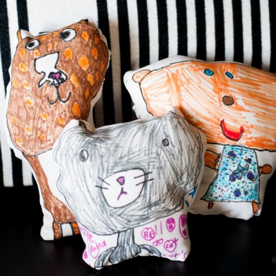 Sewing With Kids, A Simple and Easy Kid's Pillow You Can Make