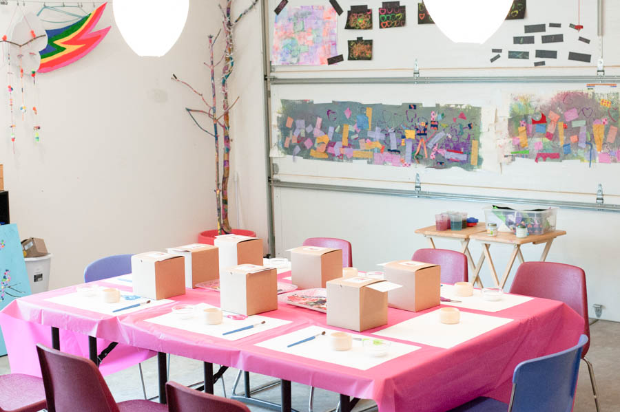 How To Transform Your Garage Into An Amazing Kids' Art Space