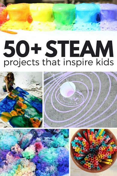50 STEAM projects that inspire kids
