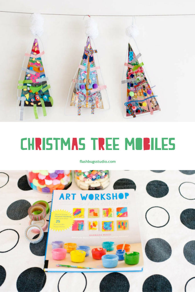 Art Workshop for Children, Christmas Tree Mobiles