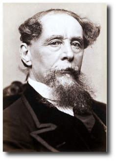Charles Dickens, circa 1867. Artwork: This photo is in the public domain and comes to us via .