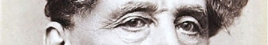 The eyes of Charles Dickens