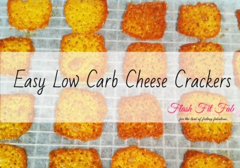 Crispy Low Carb Cheese Crackers Recipe