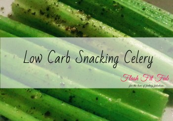 Low Carb Snacking Celery