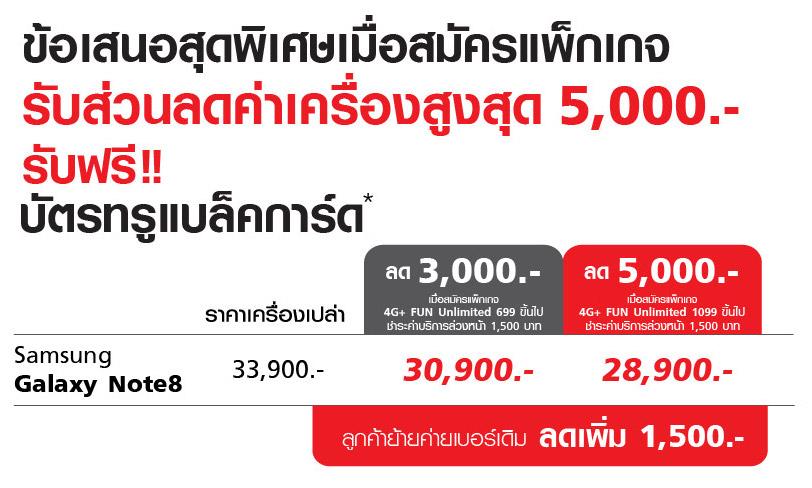Note8_LandingPage_new02_Discount 5000 THB
