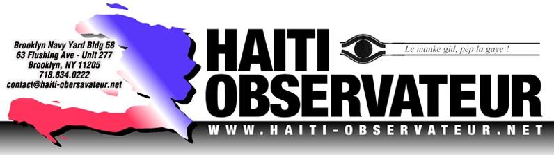 Image result for haiti observateur logo