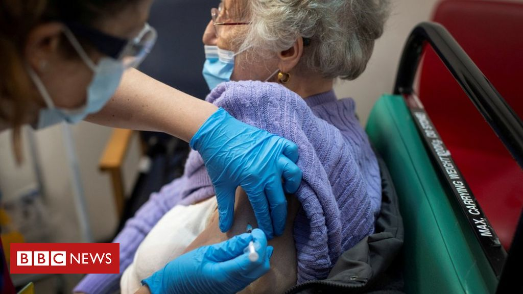 1.3 million in UK have had their Covid vaccine
