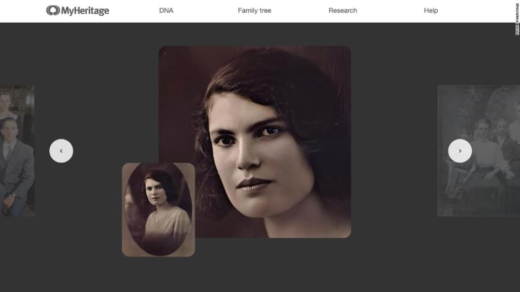 A new program can animate old photos. But there's nothing human about artificial intelligence