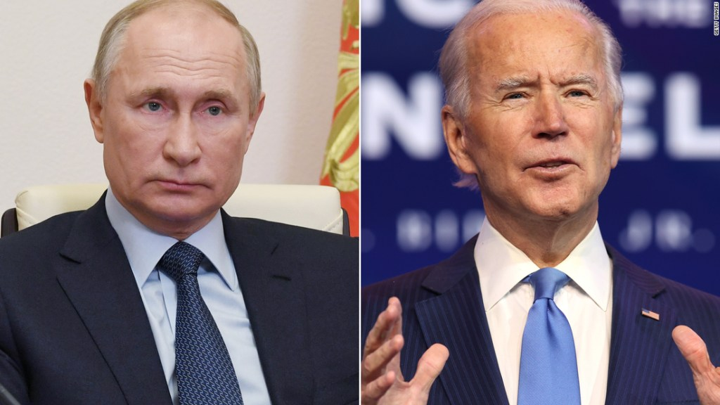 Biden says his 'hope and expectation' is to meet Putin on upcoming Europe trip - CNN Politics