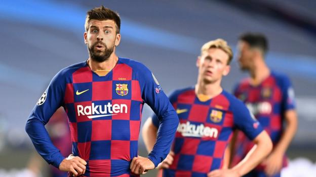 Big changes needed at 'humiliated' Barcelona - Gerard Pique