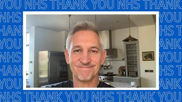 Clap for our Carers - Lineker shares message to NHS